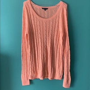 American eagle large spring colored sweater